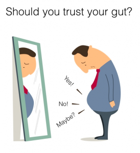 Should you trust your gut?